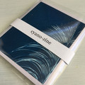 Artist Book, Small Zine with original cyanotypes, saddle stitch binding