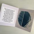 Mini Zine, Artist Book of original cyanotypes OOAK