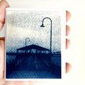 Small Artist Book, Mini Zine containing original cyanotypes