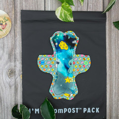 """8"""" moderate exposed core cloth pad (Lips of an Angel)"""