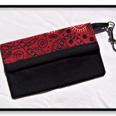 Bush Tucker Red Face Mask Carry Pouch