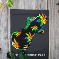 """12"""" heavy exposed core cloth pad (Versodile tesswrap - extra wide flare)"""