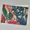 Botanical floral Art Greeting Card 5