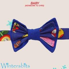 Super Mario bow tie. Baby size.