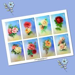 Vintage Roses  Printables
