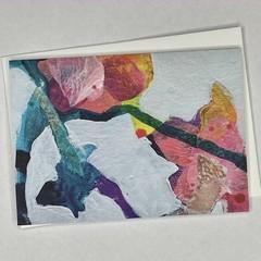 Botanical floral Art Greeting Card 6