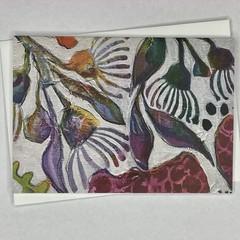 Botanical floral Art Greeting Card 7