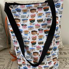 Frenc Kitty Foldup Shopping Bag