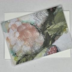 Botanical floral Art Greeting Card 1