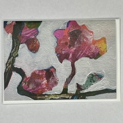 Botanical floral Art Greeting Card 9