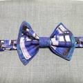 TARDIS bow tie. Teen/adult size. Velcro closure.