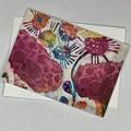 Botanical floral Art Greeting Card 3