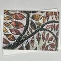 Botanical floral Art Greeting Card 8