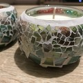 Fairy mosaic scented soy candles