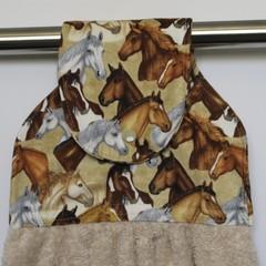 Horses Designer Hand Towel