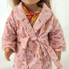 Bedtime set - Unicorn PJ's and Dressing Gown