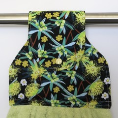 Australian native wattle Designer Hand Towel