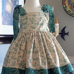 Stunning aqua sun dress size 1-2