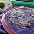 Full Embroidery kit - includes hoop