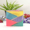 Coconut and Olive Oil Soap - Geometric Chic Brique Soap