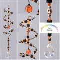 SALE!  Spiral Suncatchers in Glass - various