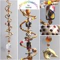 SALE!  Decorative Glass Spiral Suncatchers - various