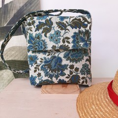 Floral handbag, crossbody bag