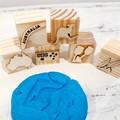 Wooden Dough Imprint Blocks - AUSTRALIA Set