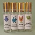 Children's essential oil roller blend 10ml  set of 4 rollers