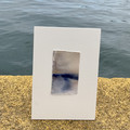 Waterline #19 - Watercolour painting on cotton paper