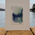Sea of Colloid - Watercolour abstract landscape painting on cotton paper
