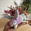Colourful bunny