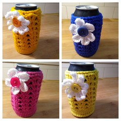 Set of 4 - Stubby Coolers/Bottle Cosies