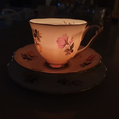 Vintage Candle Cup - FREE LOCAL PICKUP AVAILABLE AT CHECKOUT