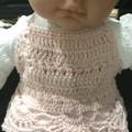 Crochet Baby Halter Crop Top, Handmade, Boho, Beach Wear,Cotton.