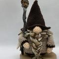 Tigers Eye Crystal Wizard, amigurumi model