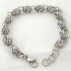 Stainless Steel Chain Maille Weave Shirzo