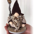 Tigers Eye Crystal Wizard, amigurumi model