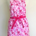 Pink Star Womens Kitchen Apron FREE Tracked Post!