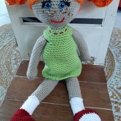 Crochet Doll, kids toy, dolly