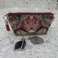 Credit Card Pouch Coin Purse - Women's Girls - Nature Design