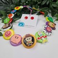 The Story of Toys - Buttons Necklace - Jewellery - Bonus Earrings