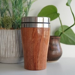 Wooden travel cup, Wooden coffee mug, Keep cup, Gift for her, Xmas gift