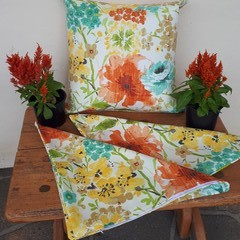 SUMMER COLOURS OUTDOOR FABRIC COVERS/SAVE WHEN BUY TWO OR MORE/45CM X 45CM