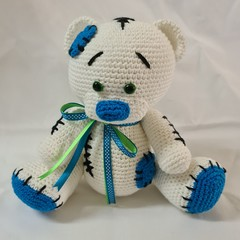 Stitches the Crocheted Bear