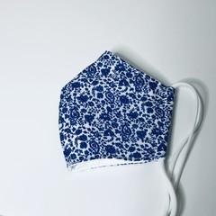 100% Cotton, Reusable, Washable 3D Face Mask, Triple Layered Adult Mask