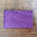 Cork Business Card Holder - Purple
