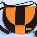 Canvas crossbody bag or shoulder bag with adjustable strap
