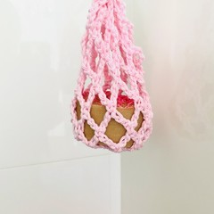 Soap Scrubbie- Cotton- Pink