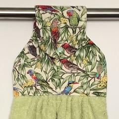 Australian birds Designer Hand Towel